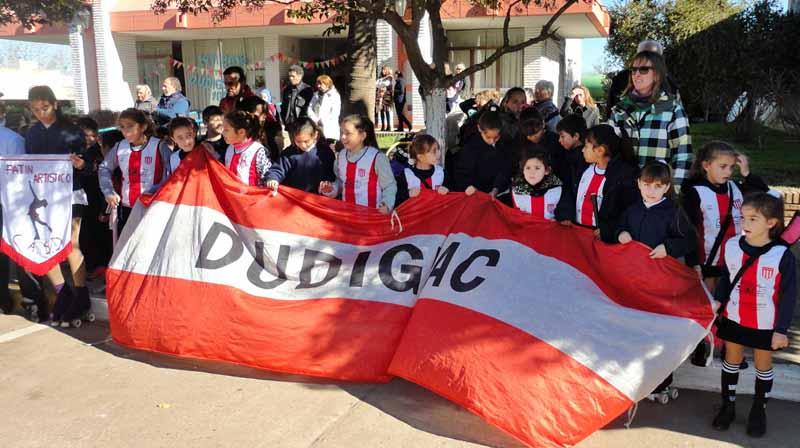 Dudignac celebró sus 105 años