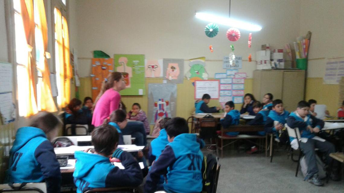 Charla sobre Educación Sexual Integral en Dudignac
