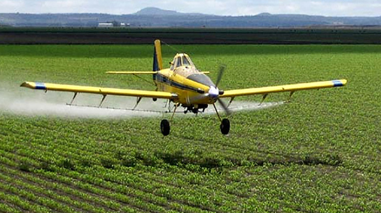 Aplicación de agroquímicos en zonas protegidas