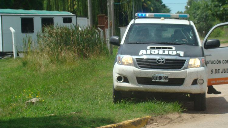 Policía con mucha acción