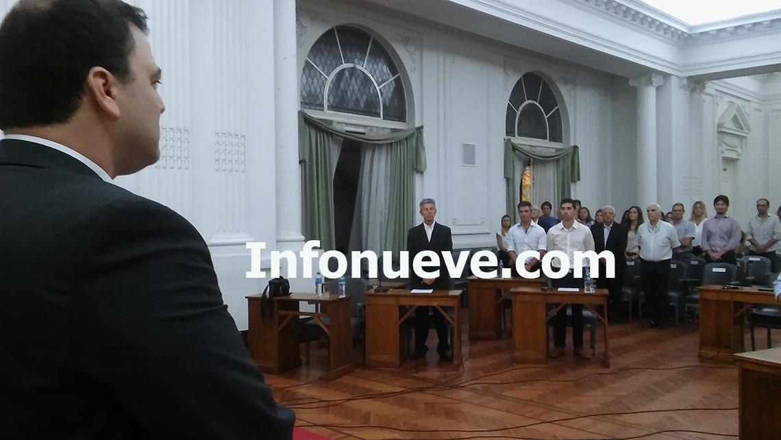 Barroso realizó la apertura de Sesiones