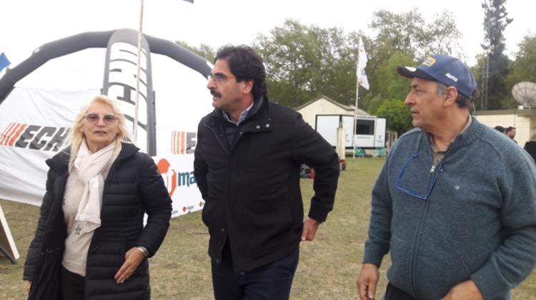 Sarquis visitó la Expo Rural