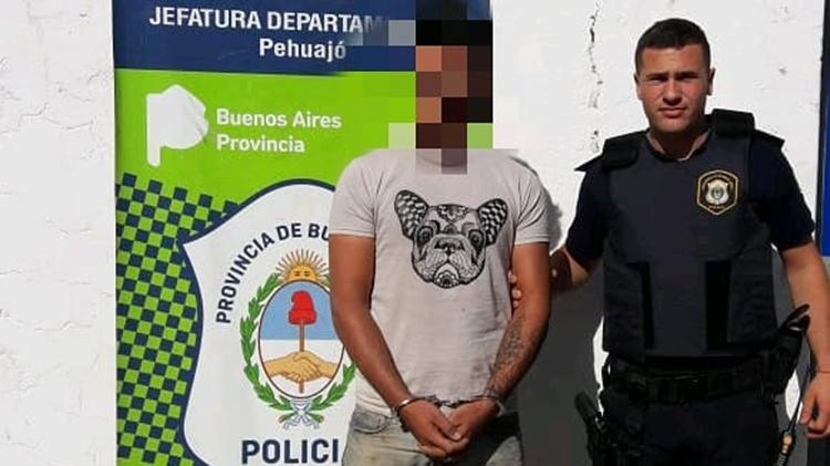 Detenido por robo