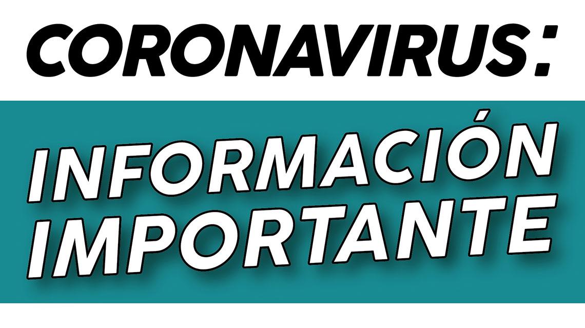 Coronavirus: Fiestas Privadas